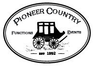 Pioneer Country - Verandah Cafe, Weddings, Events & Functions.